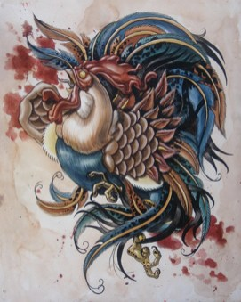Maria Sena - Cockfight