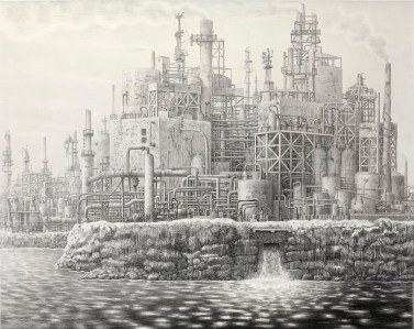 """Charcoal and graphite on paper, framed 43"""" x 34.25"""" $3,600.00"""