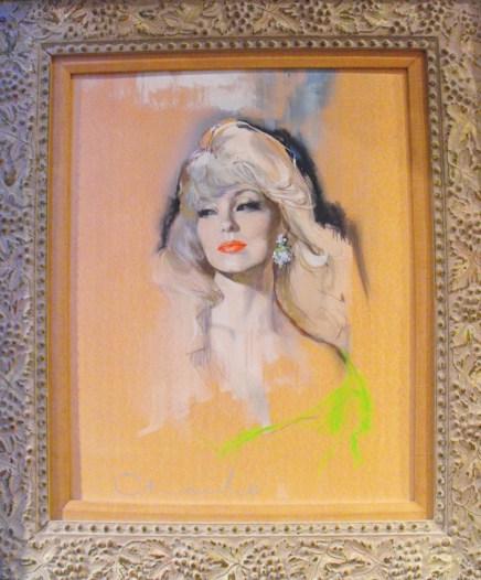 "by Mary Stewart (1958) Oil on board 15.5"" x 19.75"" in 25"" x 29.25"" frame $3,000.00"