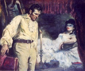 """by C.V. Terry (1955) Oil on board 27"""" x 23"""" (plus frame) $3,800.00"""