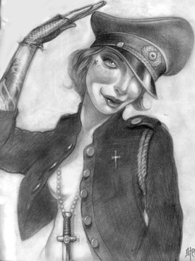"""Graphite on paper 7.5"""" x 9.5"""" in 11.5"""" x 13.5"""" frame $280.00"""