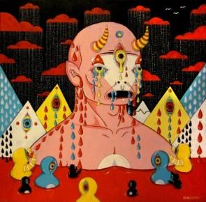 """Acrylic on canvas 20"""" x 20"""" $1,000.00"""