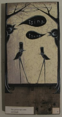 """Mixed media on wood 6"""" x 12"""" $120.00 Sold"""