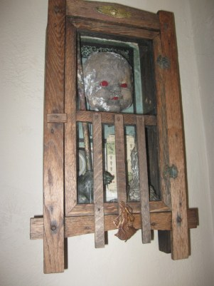 """Assemblage 11"""" x 18"""" x 4"""" $600.00 Sold"""