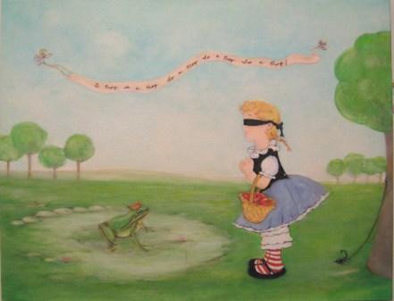 "Oil on canvas 14"" x 18"" $600.00"