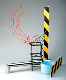 """Stainless steel and enamel 25.75"""" x 26.5"""" x 30"""" $15,000.00"""