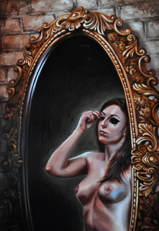 "Oil on canvas 36"" x 24"" $2,100.00"
