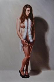 "Oil on canvas 30"" x 50"" $3,600.00"