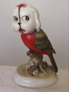 "Porcelain and epoxy 5.75"" x 3.5"" x 2.5"" $220.00 Sold"