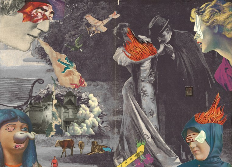 "Collage 15.5"" x 12.25"" $550.00 Sold"