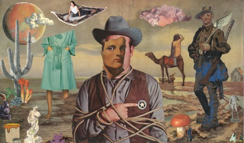 "Collage 19"" x 11.5"" $600.00"