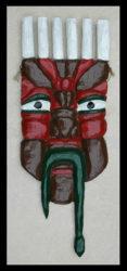 Herbert Singleton - Six-horned Mask, c. 1990s