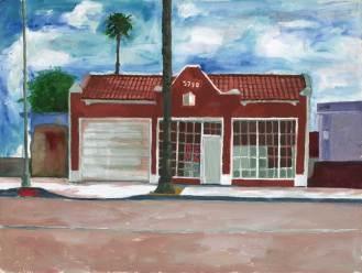 "Watercolor on cold press arches paper 12"" x 16"" $750.00"