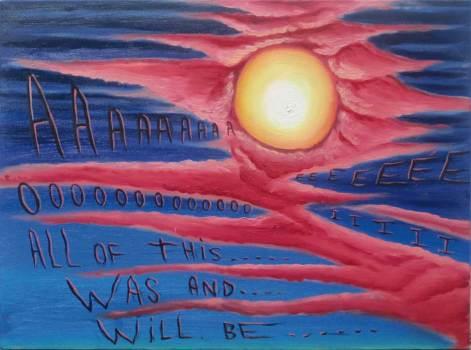 "Oil on canvas 24"" x 18"" $2,500.00"