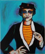 """Acrylic on canvas 20"""" x 24"""" $1,500.00"""