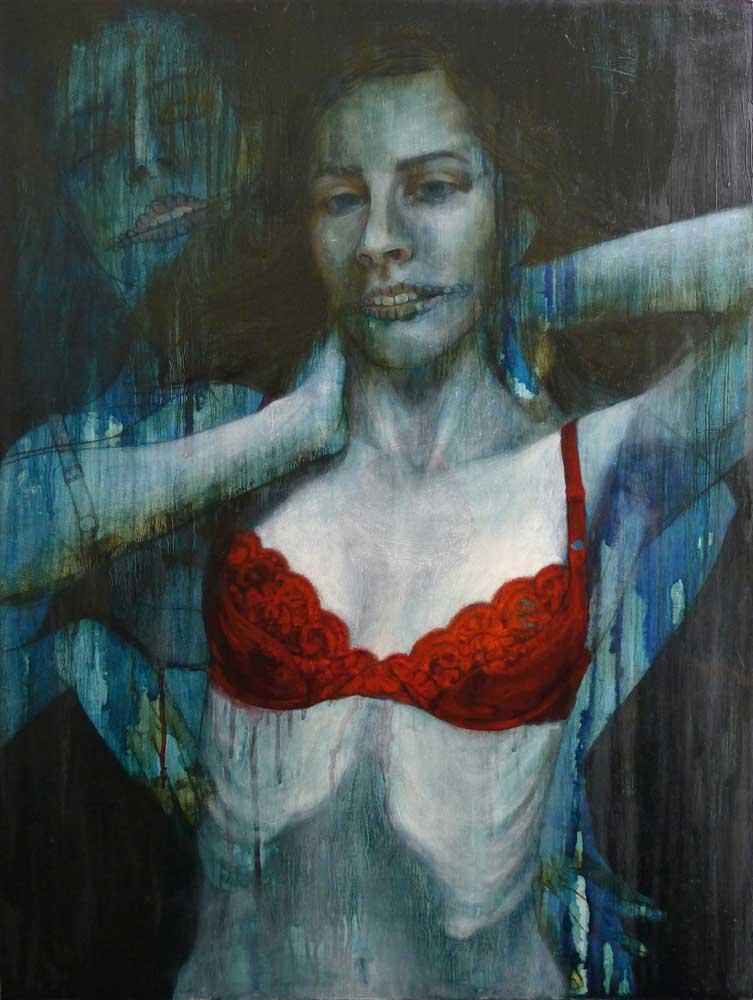 """Oil on wood panel 18"""" x 24"""" $1,900.00"""