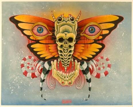 Mike Biggs - Eyes of Mothra