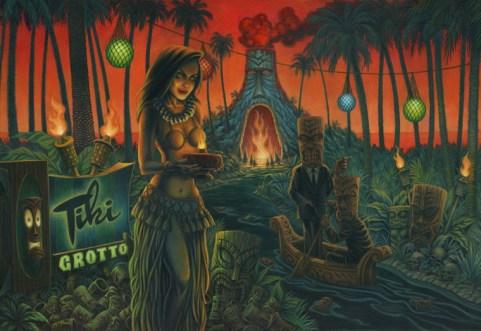 Doug P'Gosh - One Way Trip to the Tiki Grotto