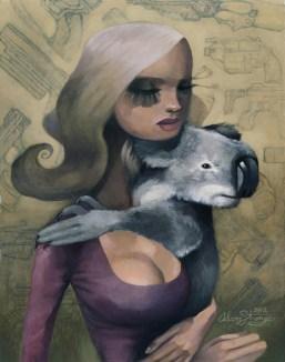Adam Strange - Koala Girl