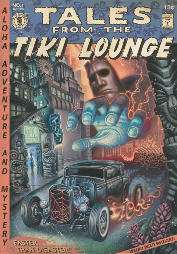 "Brad ""Tiki Shark"" Parker - Tales From the Tiki Lounge No. 11 (Faster Than Disaster)"