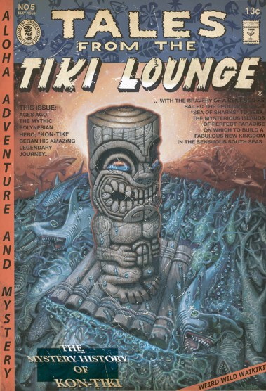 "Brad ""Tiki Shark"" Parker - Tales From the Tiki Lounge No. 5 (Kon-Tiki Dream)"