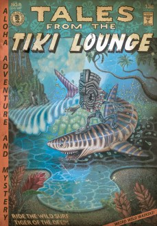 "Brad ""Tiki Shark"" Parker - Tales From the Tiki Lounge No. 8 (Tiger Shark Surfing)"