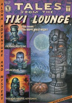 "Brad ""Tiki Shark"" Parker - Tales From the Tiki Lounge No. 10 (Happy Hula-ween)"