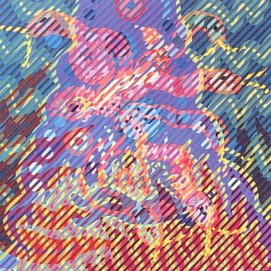 Neon Park - Bruce Lee Series 1968/88, Snake Eye / Burning Man