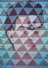 Neon Park - Bruce Lee Series 1968/88, #4 Frida / Gumbo