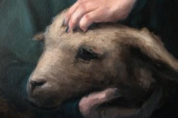 Shaun Berke - Omnes Mustum Mori (detail)