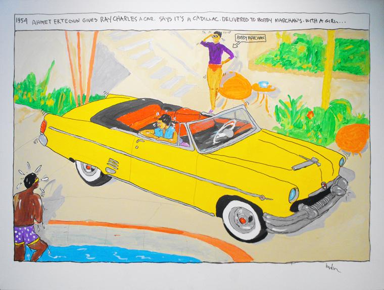 Hudson Marquez - Ahmet Ertegan Gives Ray Charles a Car