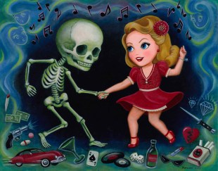 Lisa Petrucci - Death and the Maiden