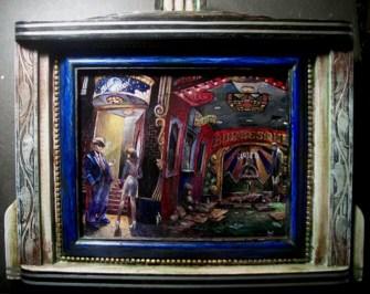16 x 12 in. / 16.25 x 14 in. framed, Oil on masonite $400.00 Sold