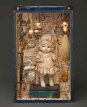 6 x 9 x 3 in. Assemblage $400.00 Sold