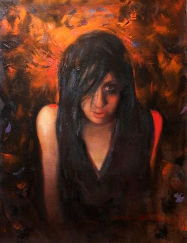14 x 18 in. / 16 x 20 in. framed, Oil on canvas board $600.00