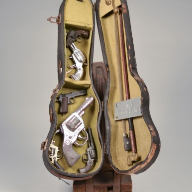 20 x 10 x 12.75 in. Mixed media found objects $1,300.00