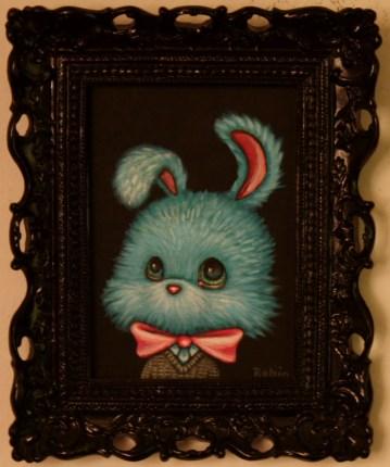 5 x 7 in. (12.5 x 18 cm) / 8 x 10 in. framed (20.5 x 25.5 cm framed) Acrylic on canvas board $250 Sold
