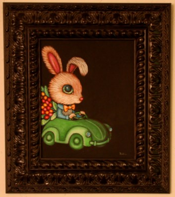 8 x 10 in. (20.5 x 25.5 cm) / 13.5 x 15.5 in framed (35 x 39.5 cm framed) Acrylic on canvas board $425