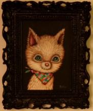 5 x 7 in. (12.5 x 18 cm) / 8 x 10 in. framed (20.5 x 25.5 cm framed) Acrylic on canvas board $250