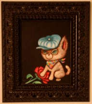 8 x 10 in. (20.5 x 25.5 cm) / 13.5 x 15.5 in. framed (35 x 39.5cm framed) Acrylic on canvas board $425 Sold