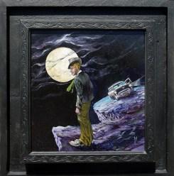 10.625 x 10 in. / 15.5 x 16 in. framed, Oil on masonite $400.00 Sold