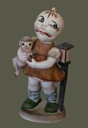 Click Mort, Ghost Pumpkin Holding a Lamb