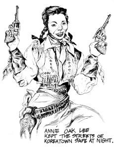 Mel Weiner, Annie Oak Lee