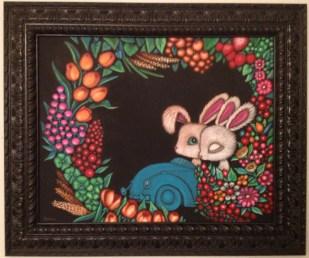 16 x 20 in. (41 x51 cm) / 21.5 x 25.5 in. framed (55 x 65 cm framed) Acrylic on canvas $850.00 Sold