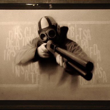 Charcoal on illustration board, 20 x 30 in. $2,000.00 Sold