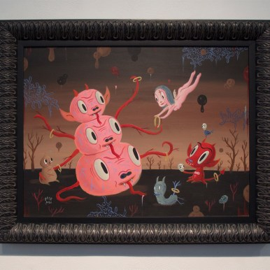 Acrylic on wood, 2005 Published 24 x 18 in. (29 x 23 in. framed) $7,500.00