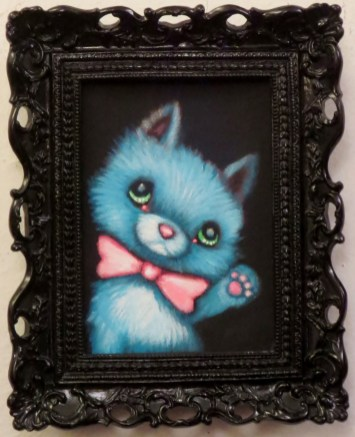 Acrylic on canvas, 5 x 7 in. (plus frame) $270.00 Sold