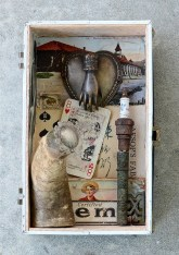 Assemblage, 6 x 8 x 3 in. $350.00 Sold