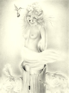 Graphite on Archival Paper, 9 x 12 in. (plus frame) $350.00 Sold