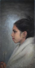 Oil on Canvas, 8 x 16 in. $800.00